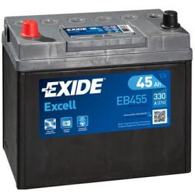 Starterbatterie EXIDE Art.No - EB455 OEM: 31500SCAE011M1 für HONDA kaufen