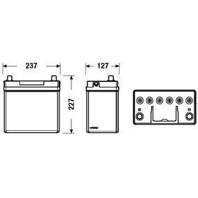 31500SCAE011M1 für HONDA, Starterbatterie EXIDE (EB455) Online-Shop