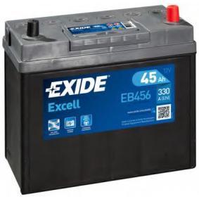 Starterbatterie EXIDE Art.No - EB456 kaufen
