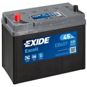 Starterbatterie EXIDE Art.No - EB457 OEM: 28800YZZCA für TOYOTA, WIESMANN kaufen