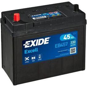 EXIDE Starterbatterie 28800YZZCA für TOYOTA, WIESMANN bestellen