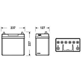 28800YZZCA für TOYOTA, WIESMANN, Starterbatterie EXIDE (EB457) Online-Shop