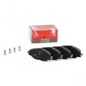 5Q0698151D pour VOLKSWAGEN, AUDI, SEAT, SKODA, Kit de plaquettes de frein, frein à disque TRW (GDB2143) Boutique en ligne