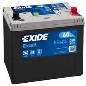 Starterbatterie EXIDE Art.No - EB604 OEM: 3361077E61 für SUZUKI, SANTANA kaufen