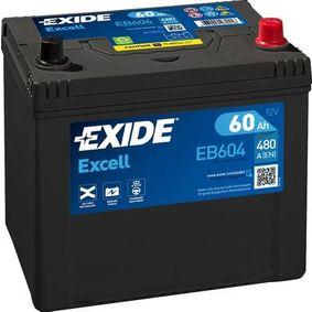 Akkumulator EB604 EXIDE