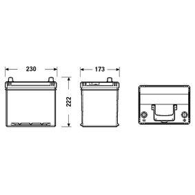 3361077E61 für SUZUKI, SANTANA, Starterbatterie EXIDE (EB604) Online-Shop