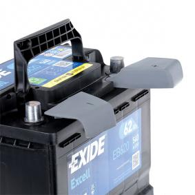 EXIDE SKODA OCTAVIA Baterie (EB620)