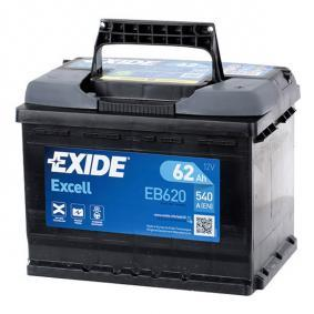 61216927453 für VW, OPEL, BMW, AUDI, FORD, Starterbatterie EXIDE (EB620) Online-Shop