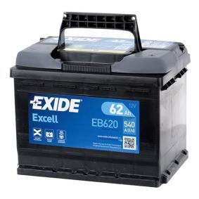 8K0915105H für VW, OPEL, BMW, AUDI, FORD, Starterbatterie EXIDE (EB620) Online-Shop