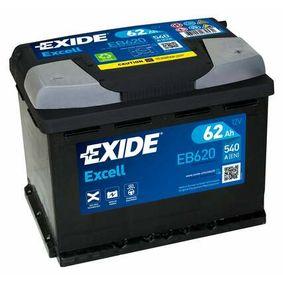 Batterie EXIDE (EB620) für VW TOURAN Preise