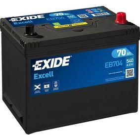 Akkumulator EB704 EXIDE