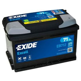 Batterie EXIDE (EB712) für FORD MONDEO Preise