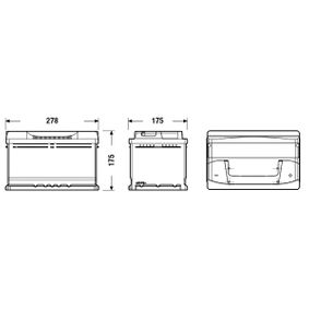 Batterie (EB712) hertseller EXIDE für RENAULT ESPACE IV (JK0/1_) ab Baujahr 11.2002, 241 PS Online-Shop