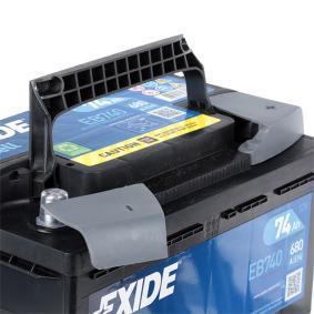 EXIDE VW TOURAN Batterie (EB740)