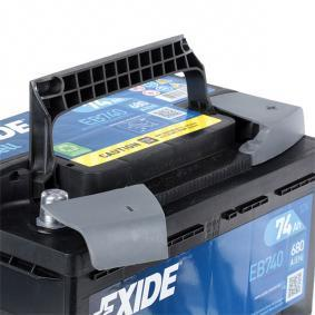 EXIDE VW CRAFTER Batterie (EB740)