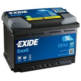 Batterie EXIDE (EB740) für VW TOURAN Preise