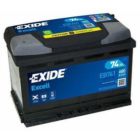 EXIDE Starterbatterie 28800YZZBB für OPEL, TOYOTA, LEXUS, ROVER, WIESMANN bestellen