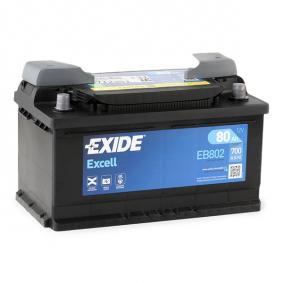 000915105AJ für VW, AUDI, SKODA, SEAT, Starterbatterie EXIDE (EB802) Online-Shop