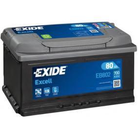 EXIDE EB802 Starterbatterie OEM - 8E0915105C VW, VAG günstig