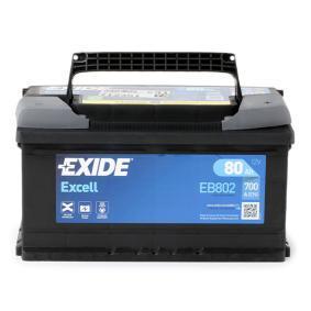 EXIDE Starterbatterie (EB802) niedriger Preis