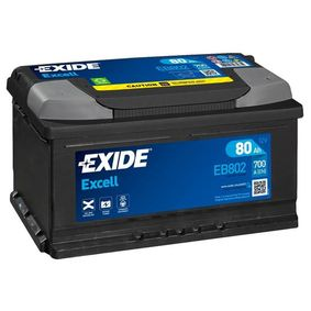 EXIDE Starterbatterie EB802