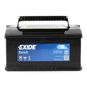 8E0915105K für VW, AUDI, SKODA, SEAT, HONDA, Starterbatterie EXIDE (EB950) Online-Shop