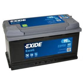 EXIDE EB950 Starterbatterie OEM - 8E0915105K AUDI, HONDA, SEAT, SKODA, VW, VAG günstig