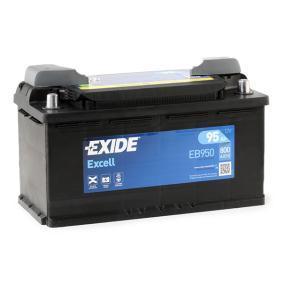 EXIDE Starterbatterie (EB950) niedriger Preis