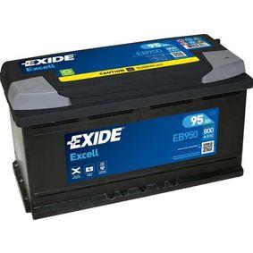 EXIDE Starterbatterie EB950