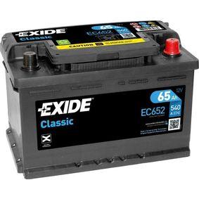 EXIDE Starterbatterie 61218381716 für BMW bestellen