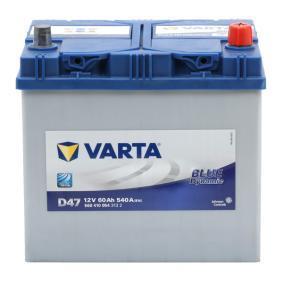 3361077E60 für SUZUKI, Starterbatterie VARTA (5604100543132) Online-Shop