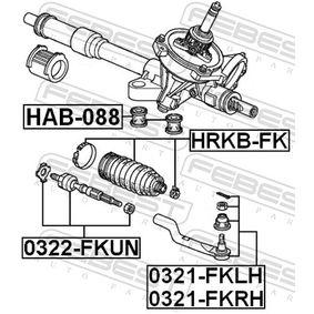 HONDA CIVIC 2.2 CTDi (FK3) 140 LE gyártási év 09.2005 - Kormányfelfüggesztés (HAB-088) FEBEST Online áruház