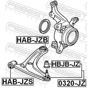 Окачване, свързваща щанга HAB-JZS FEBEST