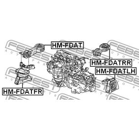 Engine mount HM-FDATRR FEBEST