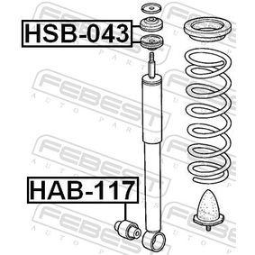 Буфери за амортисьори HSB-043 FEBEST