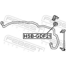 Окачване, стабилизатор HSB-GDF21 FEBEST