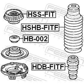 Буфери за амортисьори HSHB-FITF FEBEST