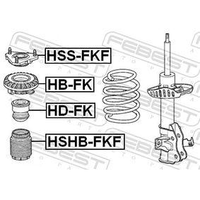 HONDA CIVIC 2.2 CTDi (FK3) 140 LE gyártási év 09.2005 - Porvédő készlet, lengéscsillapító (HSHB-FKF) FEBEST Online áruház