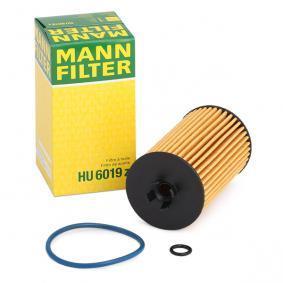 650163 für OPEL, VAUXHALL, PLYMOUTH, Ölfilter MANN-FILTER (HU 6019 z) Online-Shop