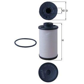 MAHLE ORIGINAL VW GOLF Комплект хидравличен филтър, автоматична предавателна кутия (HX 132D)