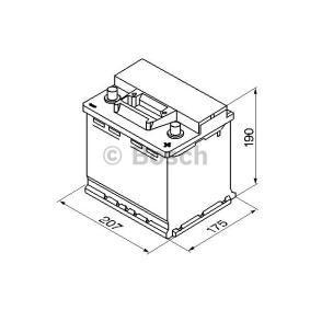 Batterie BOSCH (0 092 S30 020) für VW TOURAN Preise