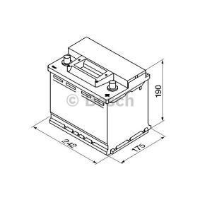BOSCH Starterbatterie 0 092 S30 050