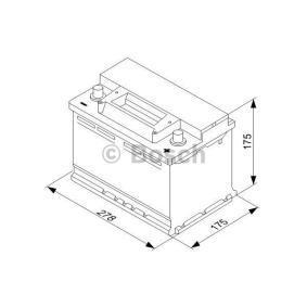 BOSCH 0 092 S30 070 Starterbatterie OEM - 71751136 ALFA ROMEO, FIAT, LANCIA, ALFAROME/FIAT/LANCI günstig