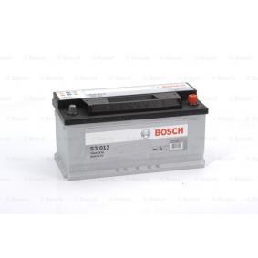 Starterbatterie BOSCH Art.No - 0 092 S30 120 OEM: 93197903 für OPEL, CHEVROLET, VAUXHALL kaufen
