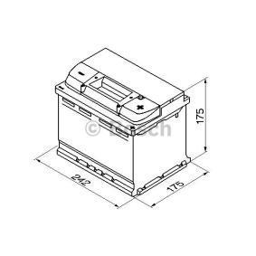 BOSCH 0 092 S40 040 Starterbatterie OEM - 1672941 FORD günstig