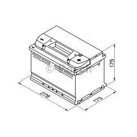 BOSCH Starterbatterie 0 092 S40 070