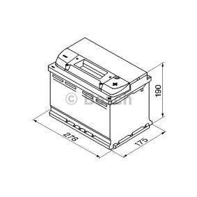 BOSCH SKODA OCTAVIA Baterie (0 092 S40 080)