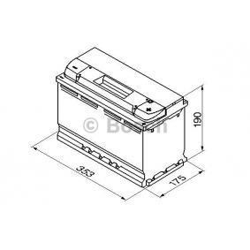 Batterie BOSCH (0 092 S40 130) für BMW 3er Preise