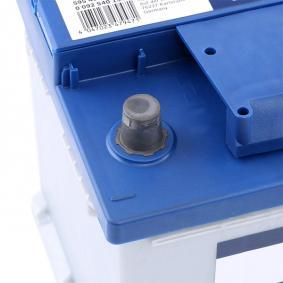Beliebte Autobatterie BOSCH 0 092 S40 130 für BMW 3er 320 d 163 PS
