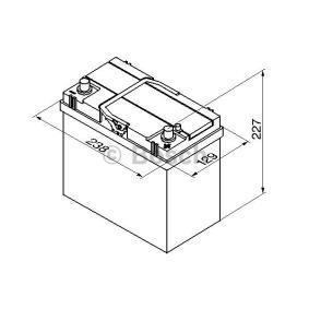 BOSCH 0 092 S40 200 Starterbatterie OEM - 31500SCAE011M1 HONDA günstig